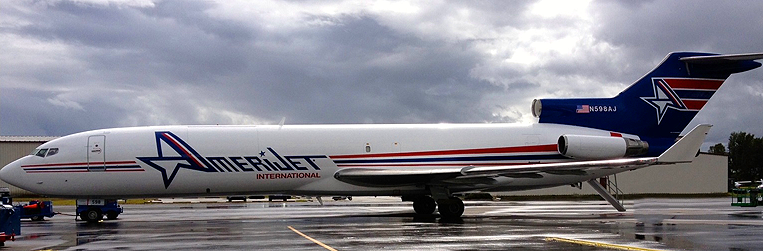 Amerijet New Paint Job December 2014