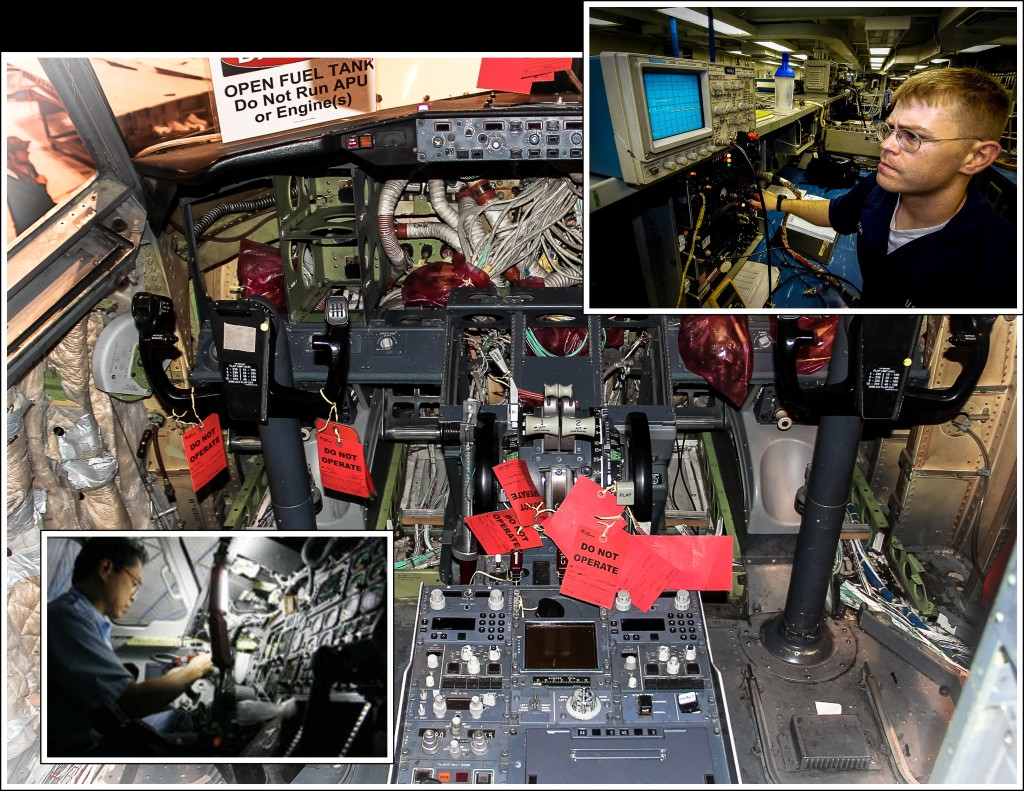 Avionics collage3