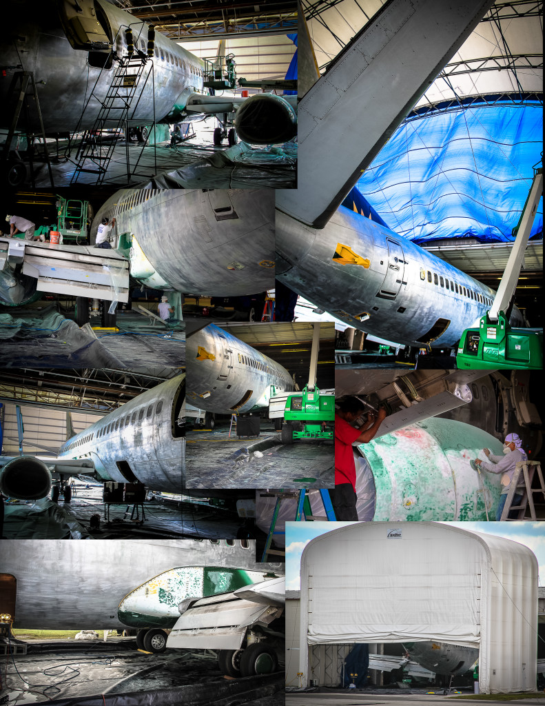 B737CL Painting Process